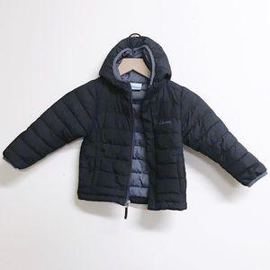 Black Columbia Hooded Jacket 4T Reg $49